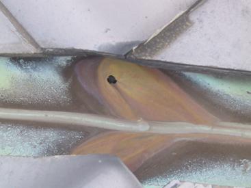 銅板の腐食